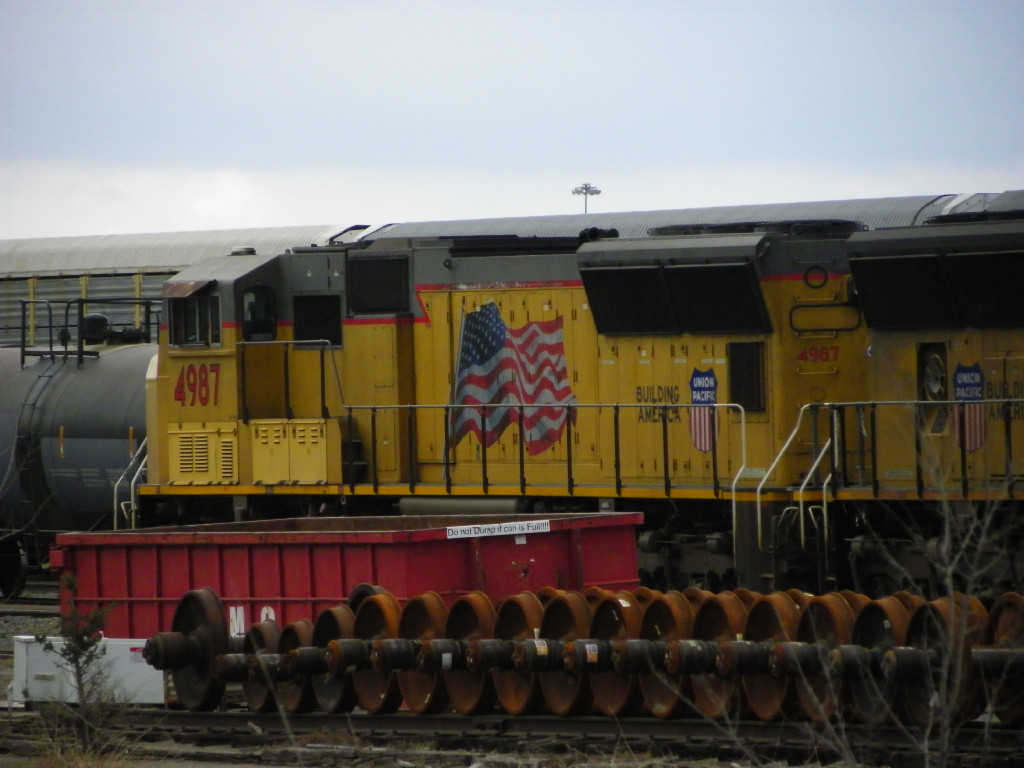 UP SD70M 4987
