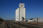 Grain elevator flag