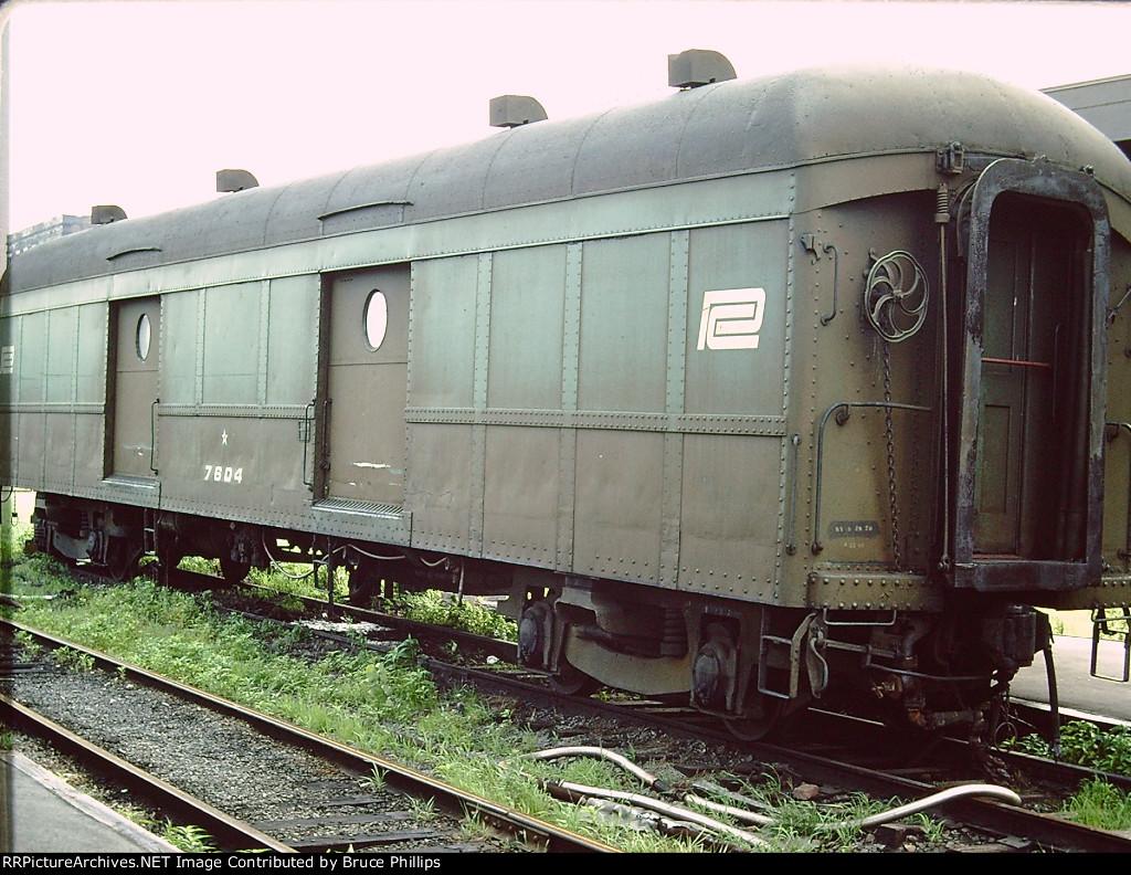 Penn Central Baggage Car 7604