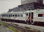 Ex New Haven/Penn Central RDC-1 on Springfield Shuttle