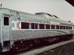 Amtrak RDC-1 #12 in service on Springfield-New Haven shuttle - 1976