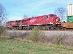 CP Rail GEs