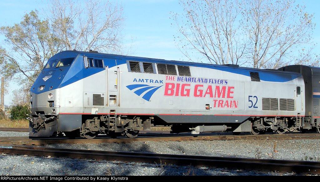 "Amtrak #189 ""The Big Game Train"" - YouTube"