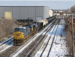 CSX 5454 & 8538 near the yard with Q335-30