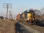 CSX 8160 leads Q326-16 east