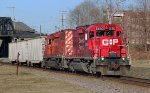 EB CP Train 256 @ 0749 hrs