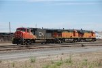 Canadian National Locomotive with BNSF