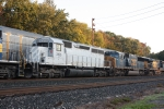n bound freight meets auto rack  7:31 am
