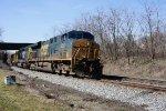 Q 401 CSX 5311, 8352 and BNSF 1374