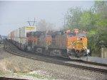 BNSF C44-9W 4142