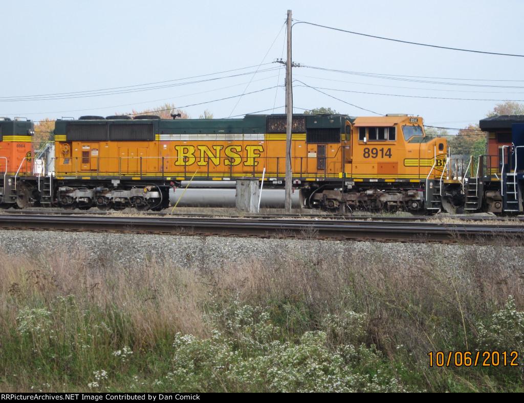 BNSF 8914