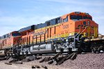 BNSF 6926 and her older C4 sister BNSF 6688 Main Track 2 at BNSF Barstow West.