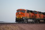 BNSF 6924 Leads the H RIC-BAR into town on this early am shot.