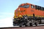 Up Close shot of the cab of BNSF 6924.