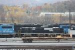 altoona yard ex njt locomotives & ns units