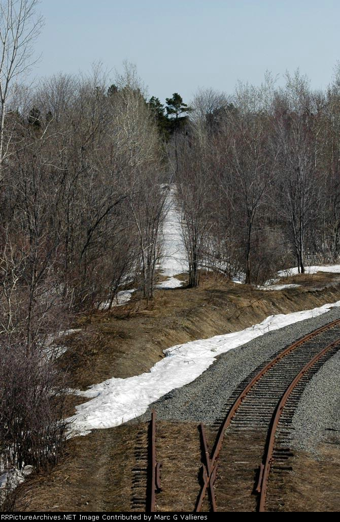 Abandonned Great Northern track to Joliette