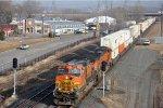 Z train races eastbound