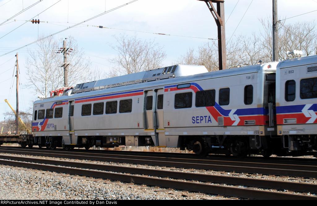 SEPTA Silverliner V 728 on C964-03