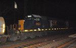 CSX SD40-2 8158 trails on Q301-20