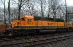 HLCX SD40-2 7903 in BNSF H1 on Q703-30