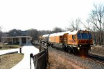 Railgrinder through Valley Forge Park