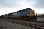 CSX 5122 Rolling East Through Chatham, NY