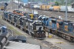 Foreign Power at CSX Selkirk Yards