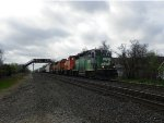 BNSF GP28M 1509, BNSF MP15DC 3704 & BNSF GP50 3205