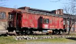 N&W Bay Window Caboose #557558