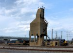 Steam era coaling tower still standing