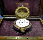 Samuel Spencer's gold pocket watch
