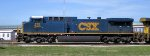 CSX #275 parked by the wye