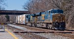 CSX Q398 rolls through St. Denis