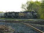 NS 6588(SD60) UP 6331(AS44CW) NS 2554(SD70) NS 9710(C40-9W)