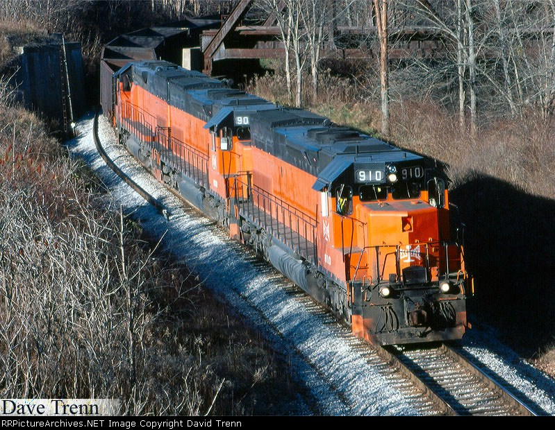 BLE 910 heads towards Greenville, Pa.