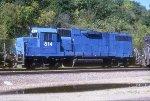 EMDX GP38-2 814