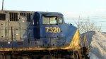 CSX 7320 Idling
