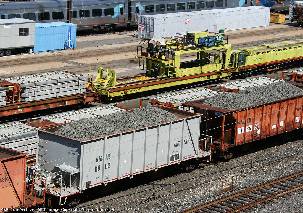 Amtrak MOW equipment