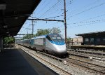 Acela Express train 2158