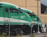 GOT 607  and GOT 631 at Kitchener Layover Yard