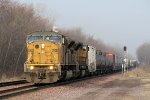 Eastbound UP Freight with 2 SD90s