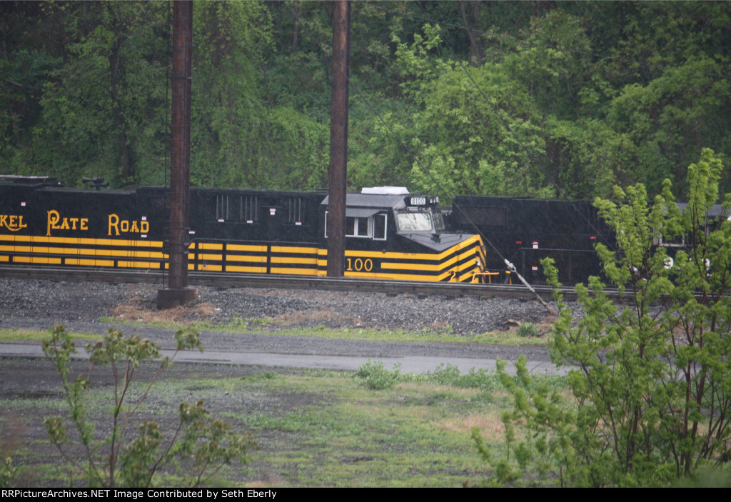 NS 8100 Nickel Plate Road Heritage unit