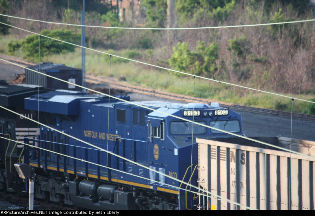 NS 8103 N&W heritage unit