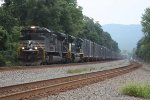 NS 65J W/ The Penn Central Heritage Unit NS 1073 WB @ MP PT 109.9