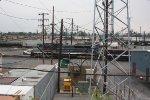 EMDX 2012 & CofG 8101 @ Enola Yard thru all the wires and such