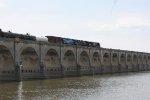 NS 11R wth NS 8098 Conrail heritage unit