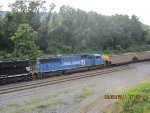 NS 6718 in Conrail Quality BLUE