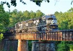 A21 w/ PR43-C 4003 crossing the Cahaba