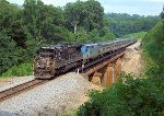 Amtrak P019 over the Cahaba