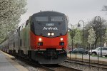 Amtrak 156 at Glenview, IL on train 8